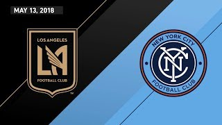 HIGHLIGHTS: Los Angeles Football Club vs. New York City FC | May 13, 2018