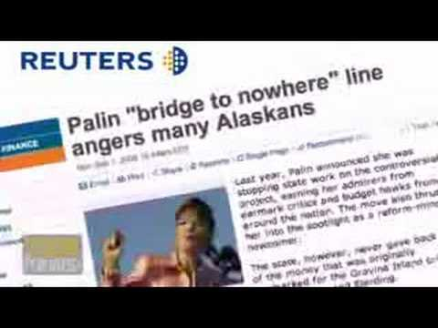 Palin was for 'Bridge to Nowhere'