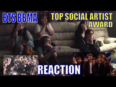 BTS Billboard Music Awards 2017 Top Social Artist Reaction