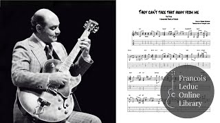 Скачать They Can T Take That Away From Me Joe Pass Transcription