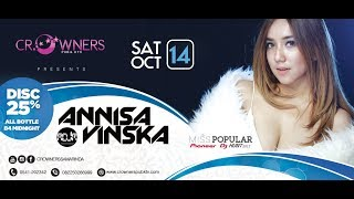 Download Mp3 Crowners Samarinda Dj Annisa Vinska  14 Oct 2017