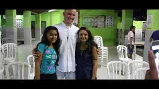 Erasmo Gomes - Palestra para os jovens de Chaval