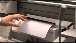 Fastbind Elite - výroba lepené knihy s hřbetním páskem