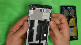 How to replace ZTE ZMax Pro Z981 LCD Glass Screen | Screen Replacement
