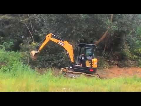 SANY excavator SY55C by Desy Budiyanto