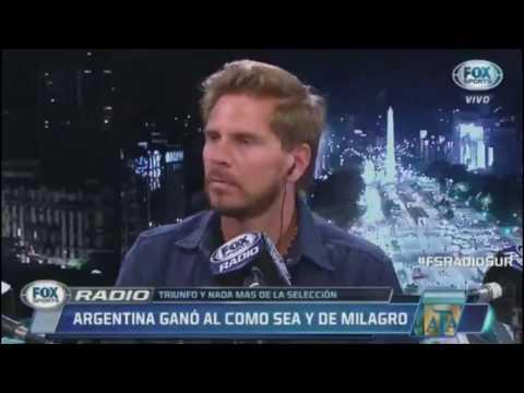 """Periodistas Argentinos: """"NECESITAMOS A UN VALDIVIA"""" - Argentina vs Chile 1-0 2017 post partido"""
