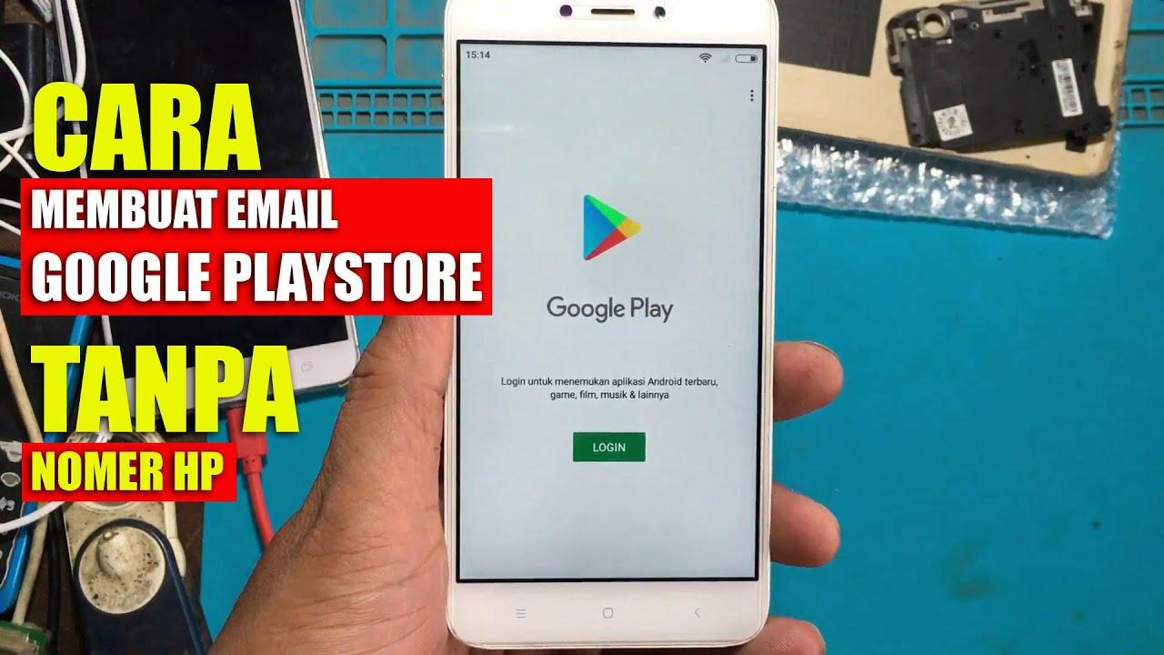 Cara Membuat Akun Email Google Play Store Youtube