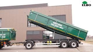 Scania G450 4x2 - zestaw z aluminiową przyczepą ELBO