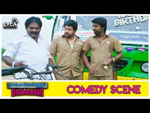 Imman Annachi Catches Viddarth & Soori - Pattaya Kelappanum Pandiya | Scene | Lyca Production
