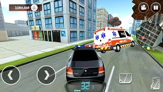 Police Car Race in City - Drive for Speed Simulator - Android Gameplay FHD