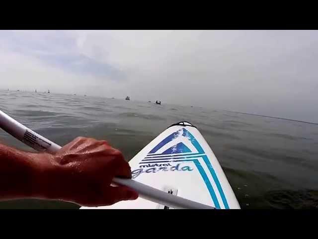 Entspannt auf dem Surfbrett