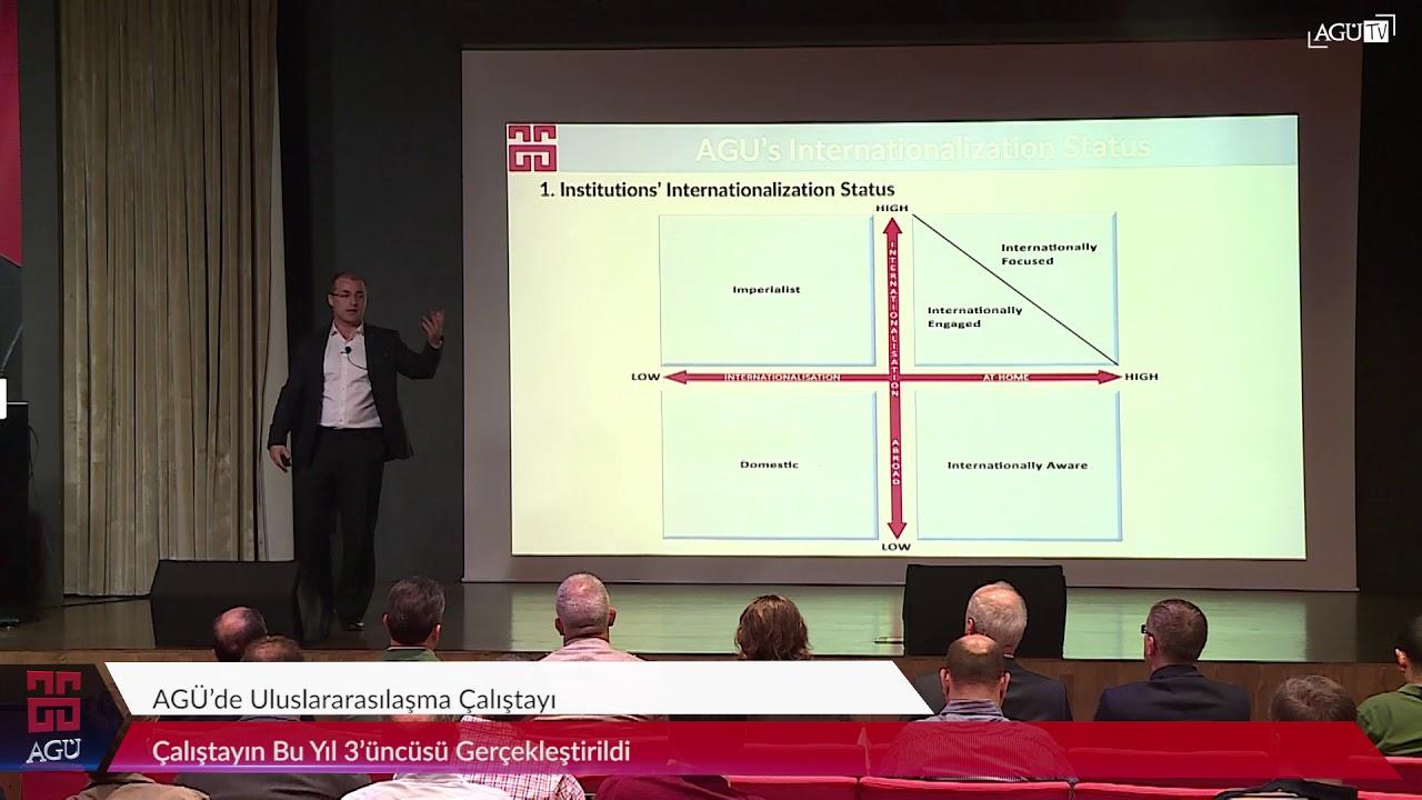 AGÜ TV - AGÜ'de Uluslararasılaşma Çalıştayı