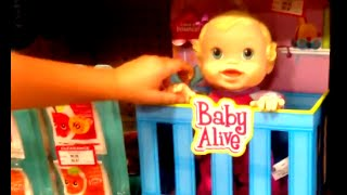 Baby Alive Bouncin' Babbles [baby Doll In Crib]