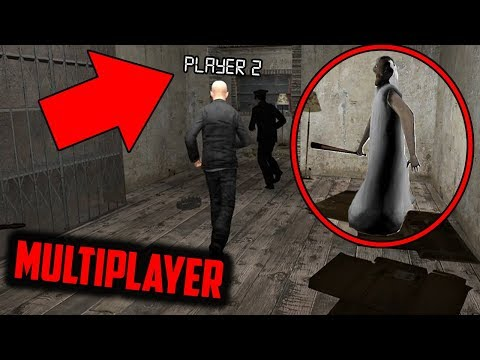 Granny Horror Game MULTIPLAYER With 3 PLAYERS! (Granny Horror Game Roleplay Part 2)