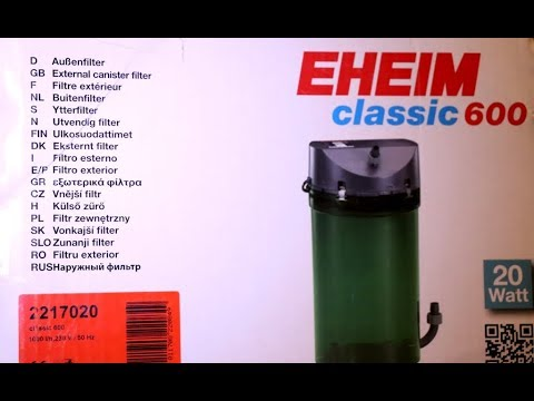 Eheim 2217 (600) Filter Cleaning