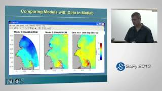 Advances in delivery and access tools for coastal ocean model data; SciPy 2013 Presentation