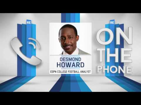 ESPN College Football Analyst Desmond Howard Picks This Weeks College Football Upsets - 9/9/16