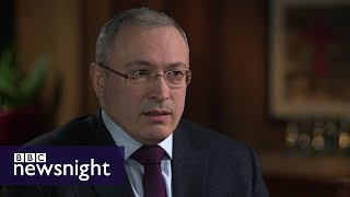 Is Putin a puppet? An interview with Mikhail Khodorkovsky - BBC Newsnight