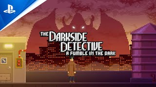 The Darkside Detective: A Fumble in the Dark - Announcement Trailer | PS5, PS4
