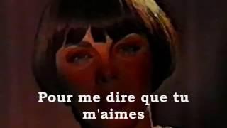 Mireille Mathieu Est ce que tu m'aimeras