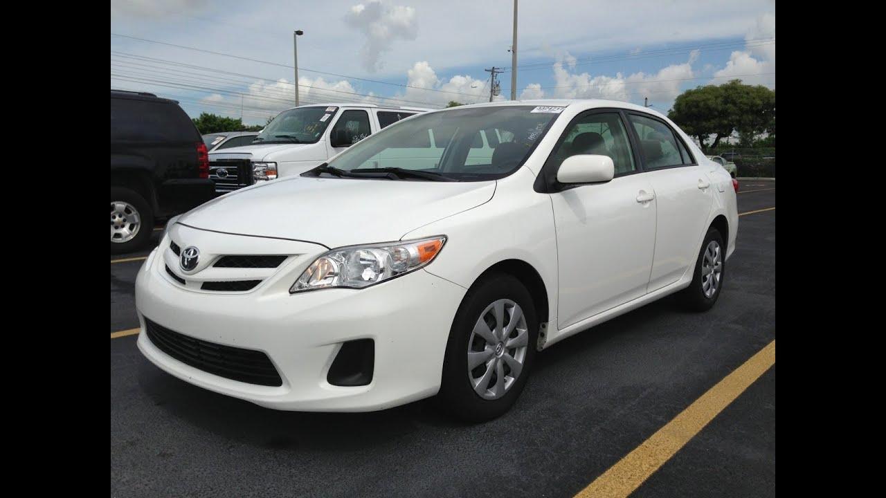 Toyota Corolla LE White 2011 - My Mint Car - YouTube