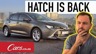 All-New Toyota Corolla Hatch Review - The Hatch is Back