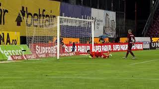 GOOOL! CFR Cluj - FCSB 4-1. Ianis Stoica a înscris golul de onoare pentru 'roș-albaștri'
