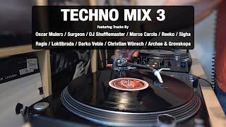 Techno Mix 3 | With Tracklist | Vinyl Mix