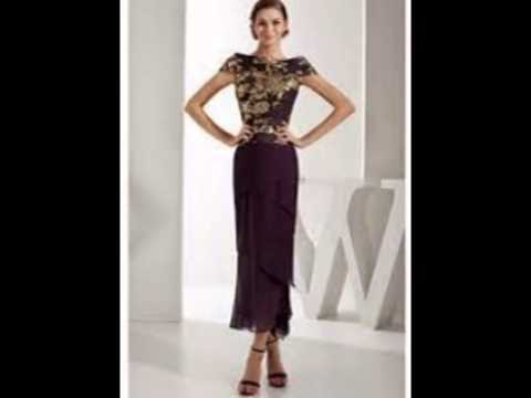 Unusual Mother Of The Bride Dresses - YouTube