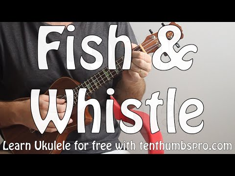 Fish & Whistle - John Prine - How to travis pick Ukulele - Ukulele song tutorial