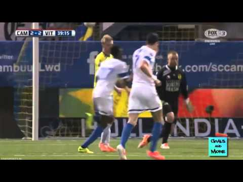 Christian Atsu goal for Vitesse at Cambuur videos