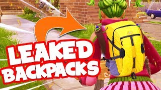 5 NIEUWE SOORTEN JETPACKS / BACKPACKS LEAKED in FORTNITE!!