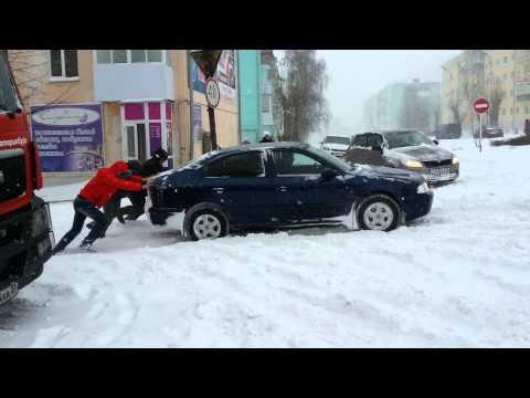 Снегопад в Краснотурьинске / www.krasnoturinsk.info