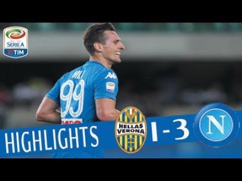 Hellas Verona - Napoli 1-3 - Highlights - Giornata 1 - Serie A TIM 2017/18