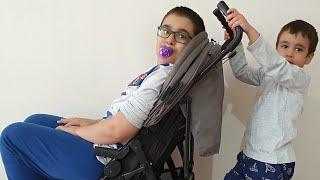 Buğra Rüya Gördü Rüyasında Bebeğe Dönüştü. Eğlenceli Çocuk Videosu