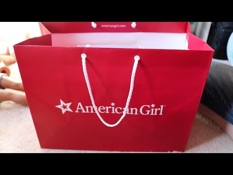 OPENING AMERICAN GIRL SALE ITEMS!