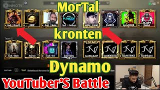 Dynamo Team Vs Kronten Team Vs MorTal Team Full Match, YouTubers Pubg Mobile Tournament Highlights