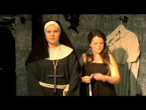How To Make A Halloween Nun Costume Youtube