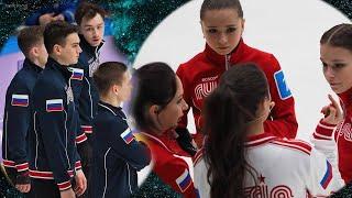 Женская команда выиграла прыжковый турнир на Кубке Первого канала с отрывом более 50 баллов