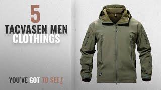 Top 10 Tacvasen Men Clothings [ Winter 2018 ]: TACVASEN Men Windproof Softshell Tactical Hoodie