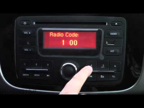 How to Activate Renault Radio Code - كيفية تفعيل وإدخال كود الكاسيت لسيارات رينو الجديدة