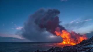 видео Вулкан в океане