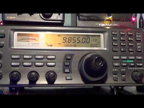 Radio Japan french from Madagascar 9855 Khz 2030 UT Shortwave