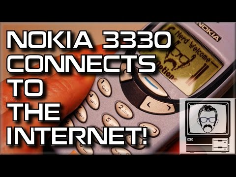Nokia 3310/3330 Connects to Internet! | Nostalgia Nerd