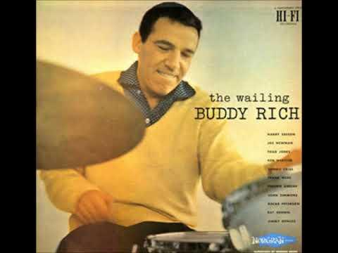 Buddy Rich  - The Wailing Buddy Rich ( Full Album )