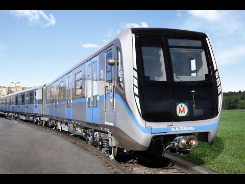 Новый поезд метро ТМХ для Казанского метрополитена