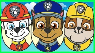 Щенячий Патруль - Киндер Сюрпризы - Машинки -Мультик для детей - Paw Patrol - Surprise Eggs