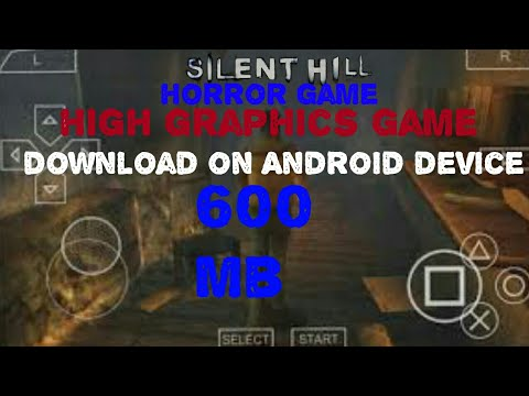 Silent Hill Origins (USA)ISO Ppsspp |Game Download On Any Android Device In Hindi|
