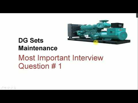 Interview Questions Of DG Maintenance In Hindi I Part-1