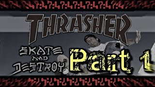 Let's Play Thrasher: Skate and Destroy Part 1: Industrial and Subway